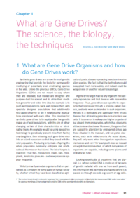 Chapter 1 Gene Drive Report